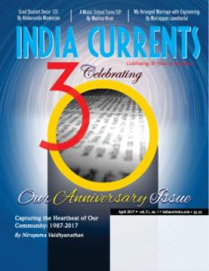 India Currents 30th Anniversary Cover