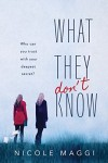 What They Don't Know by Nicole Maggi
