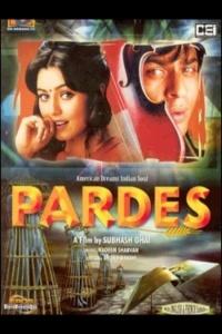 Pardes movie poster