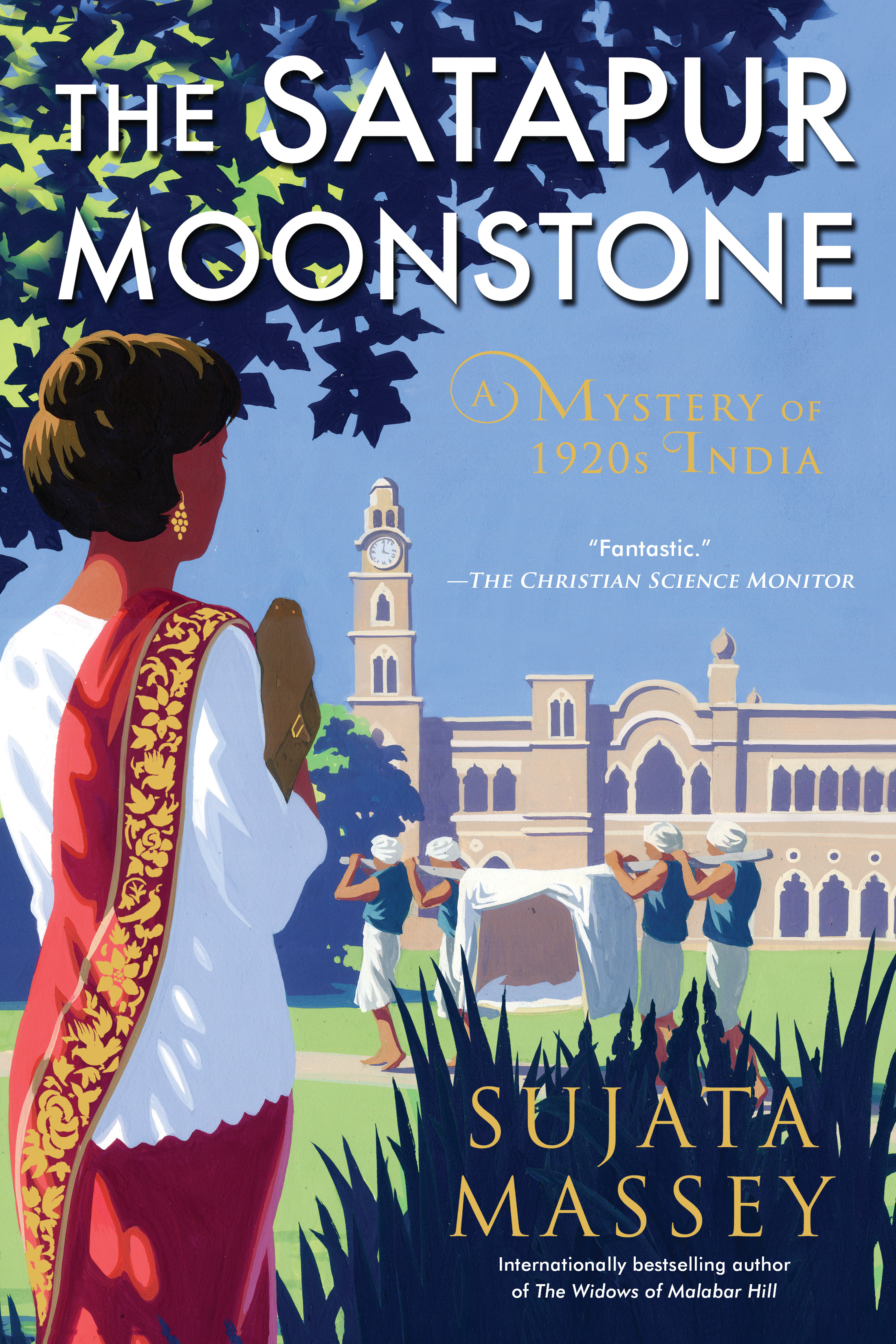The Satapur Moonstone by Sujata Massey (Perveen Mistry Book 2)
